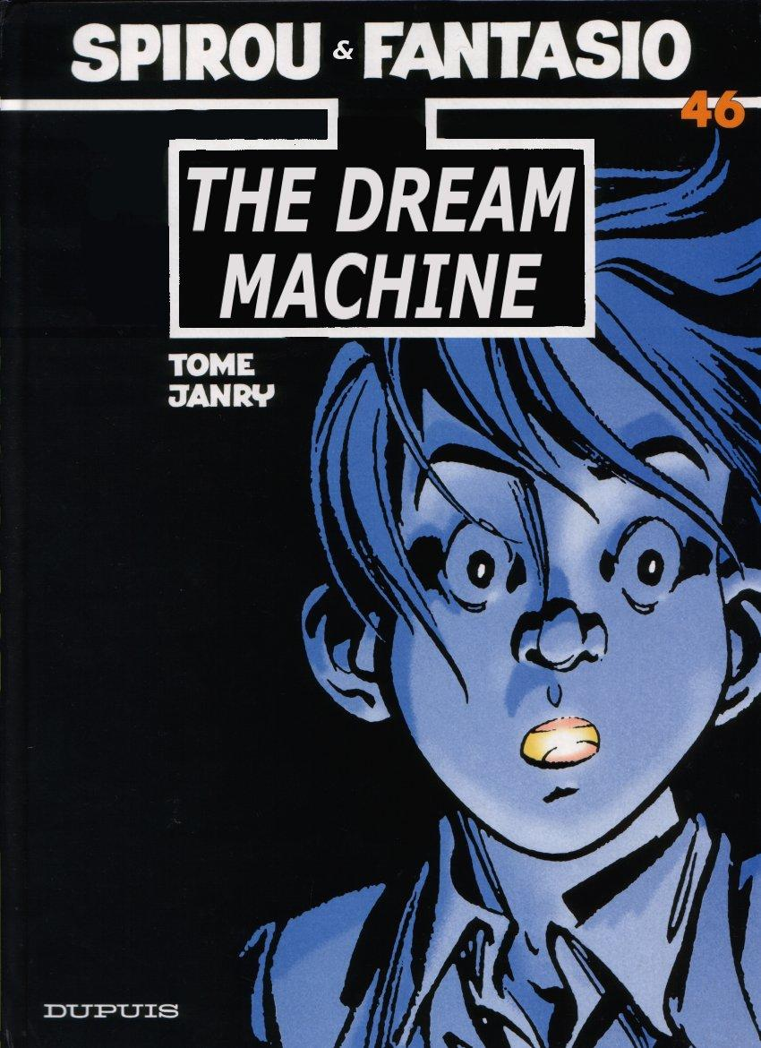 Spirou - The Dream Machine, Cover
