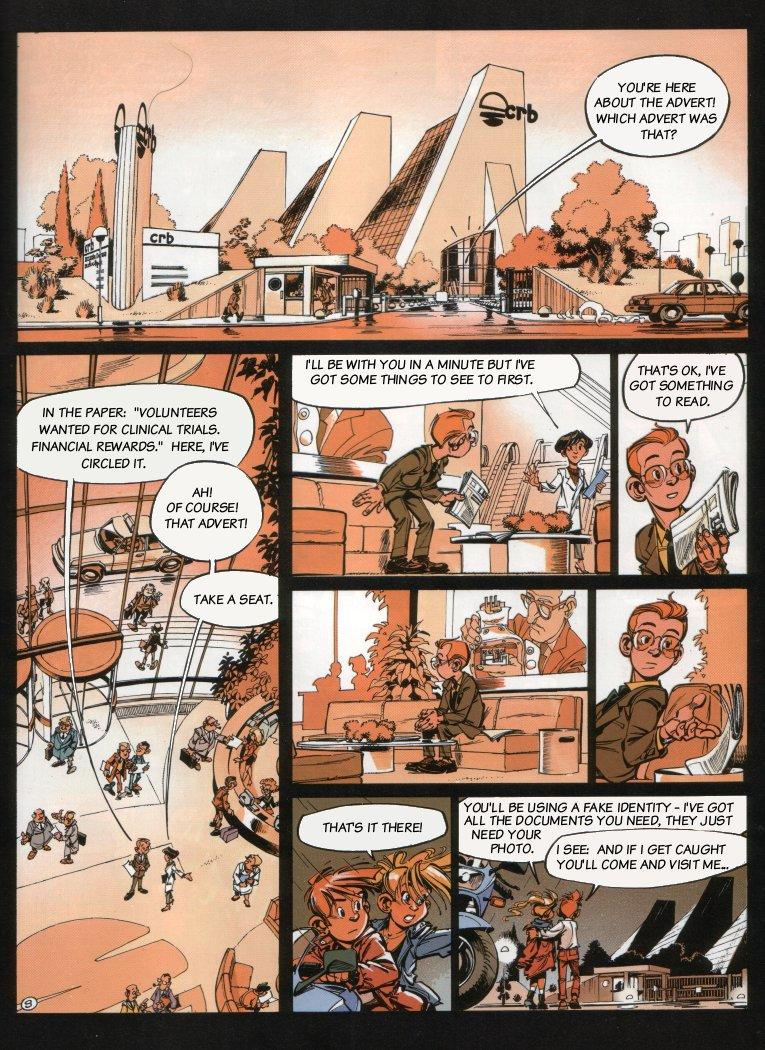 Spirou - The Dream Machine, Page 11
