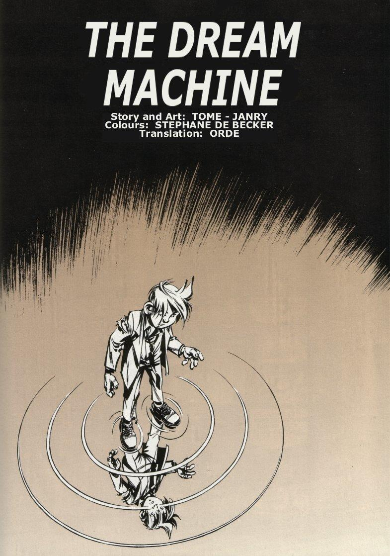 Spirou - The Dream Machine, Frontispiece