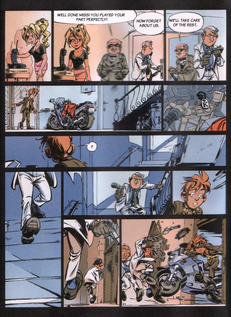 Spirou - The Dream Machine, Page 23