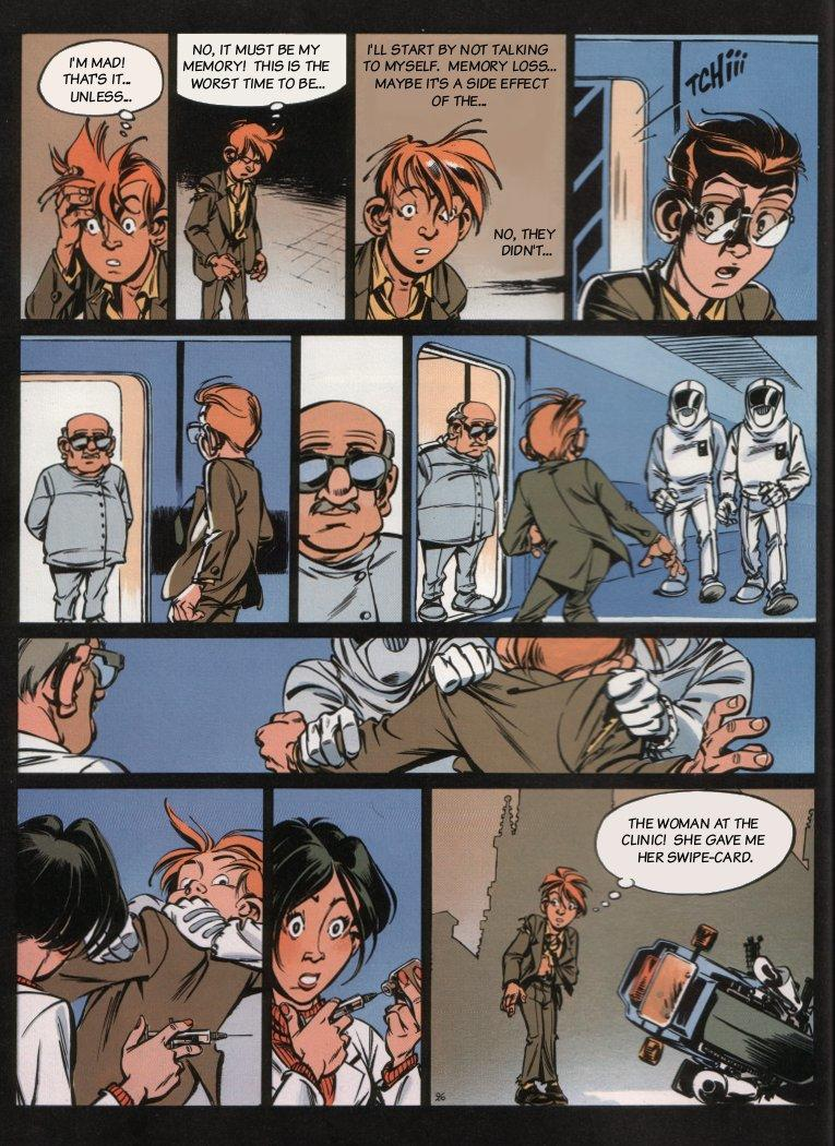 Spirou - The Dream Machine, Page 28