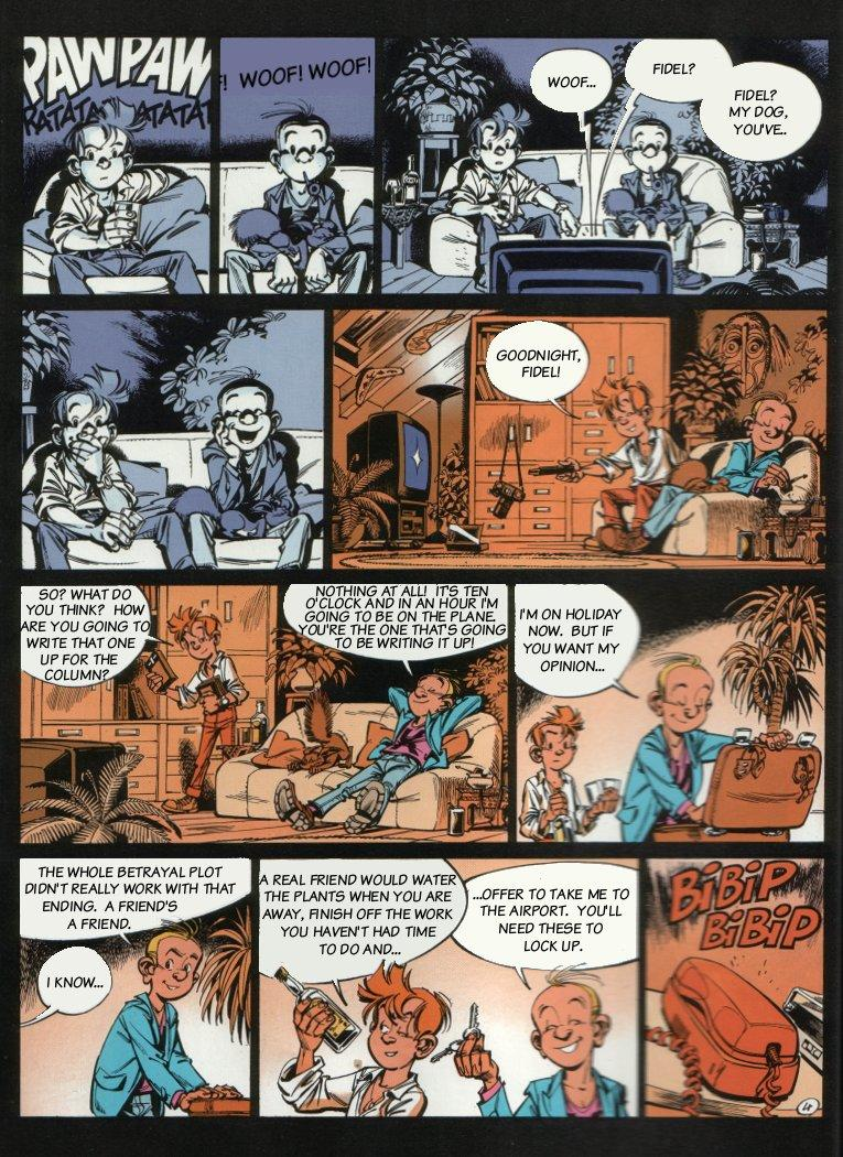 Spirou - The Dream Machine, Page 6
