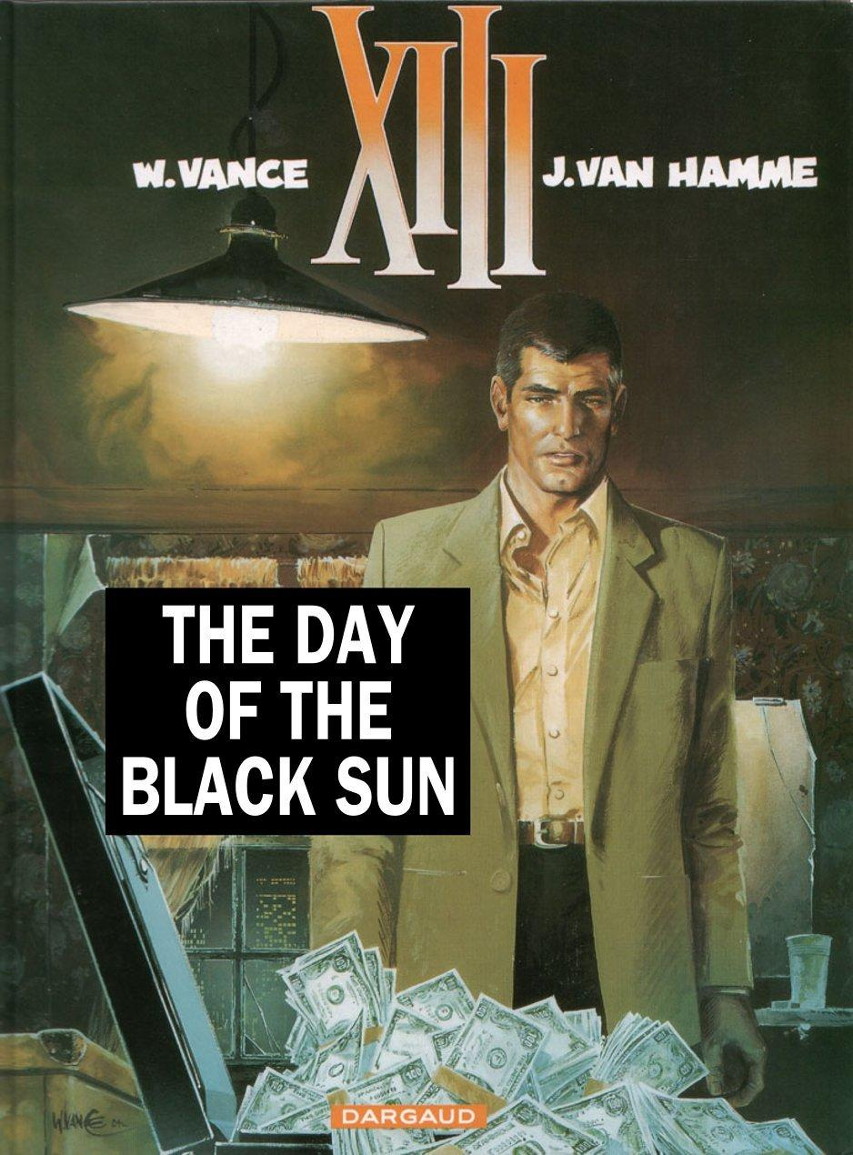 XIII - The Day of The Black Sun, Cover