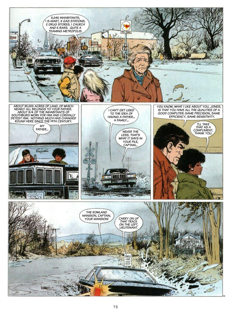 XIII - Where The Indian's Going..., Page 15