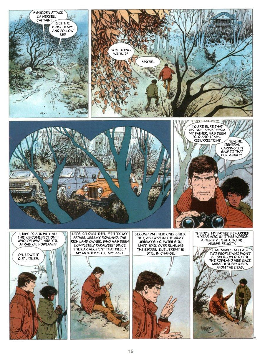 XIII - Where The Indian's Going..., Page 16