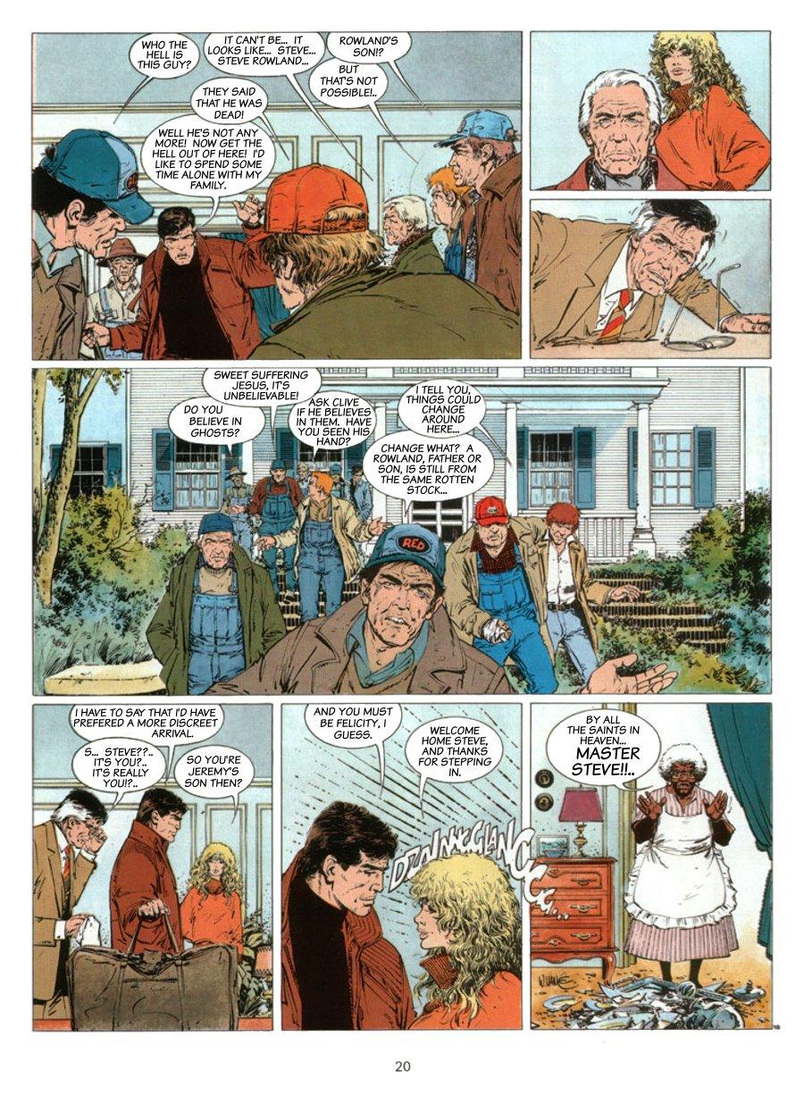 XIII - Where The Indian's Going..., Page 20