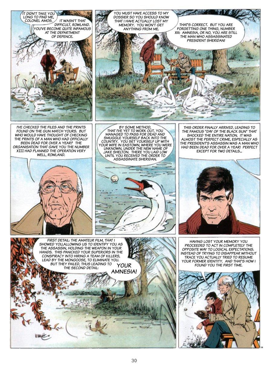 XIII - Where The Indian's Going..., Page 30