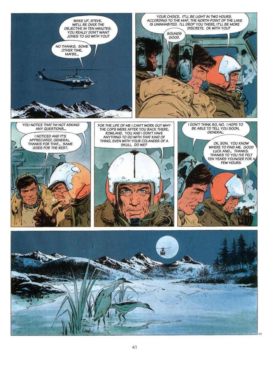 XIII - Where The Indian's Going..., Page 41