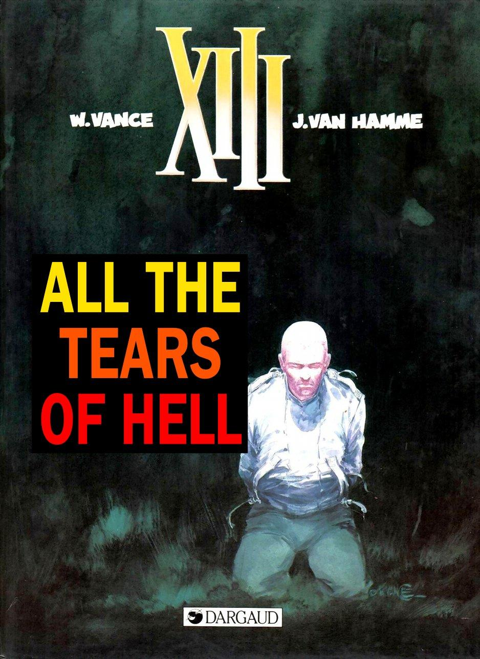 XIII - All The Tears Of Hell, Cover