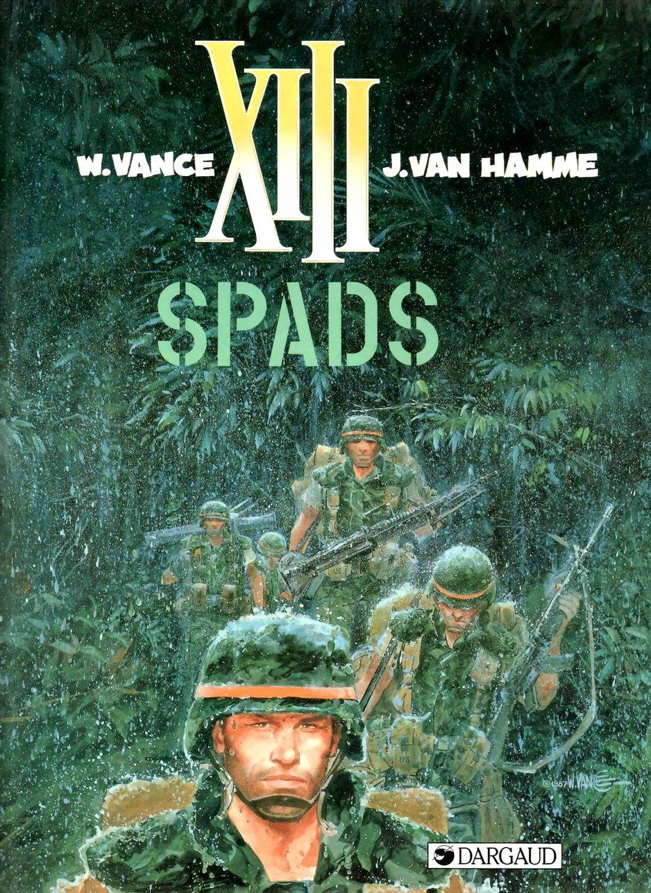 XIII - SPADS, Cover