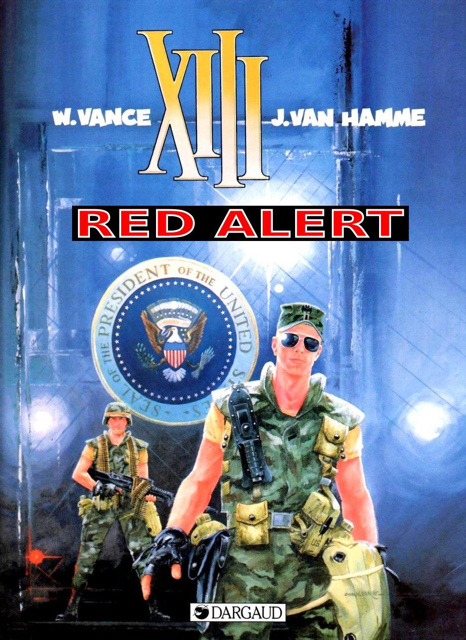 XIII - Red Alert, Cover