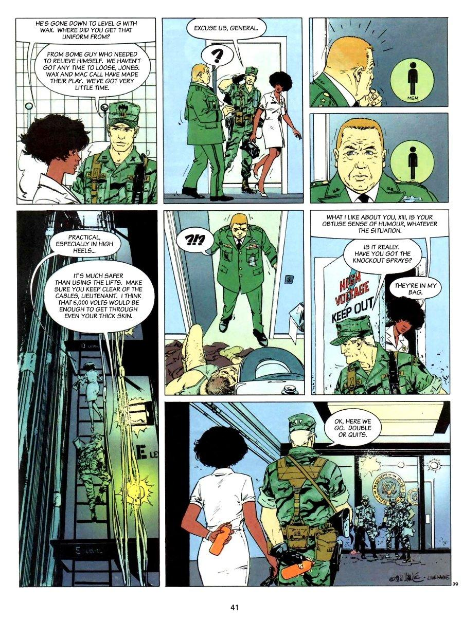 XIII - Red Alert, Page 41