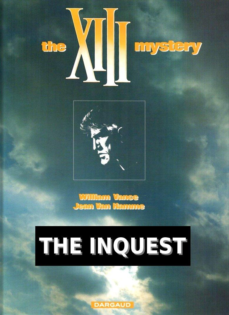 XIII - The Inquest, Cover